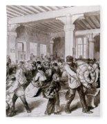 Paris: Pawnbroker, 1868 Fleece Blanket