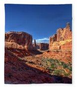 Park Avenue 1 Arches National Park Fleece Blanket