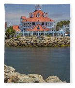 Parker's Lighthouse Fleece Blanket