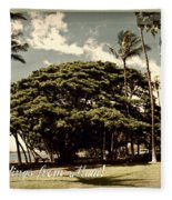 Parkside Postcard Fleece Blanket