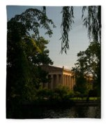 Parthenon At Nashville Tennessee 14 Fleece Blanket