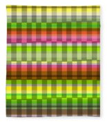 Party Stripe Fleece Blanket