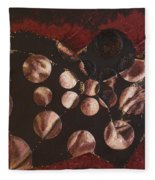 Passion Explosion II Fleece Blanket