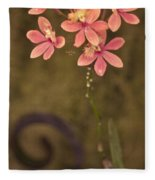 Passionate Pink Fleece Blanket
