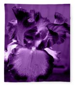 Passionate Purple Overload Fleece Blanket
