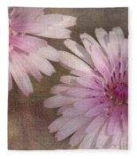 Pastel Pink Passion Fleece Blanket