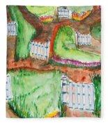 Path Of Life Fleece Blanket