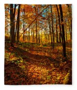 Paths Home Fleece Blanket