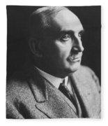 Paul Claudel (1868-1955) Fleece Blanket