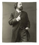 Paul Von Heyse (1830-1914) Fleece Blanket