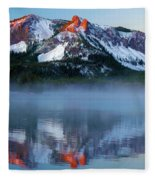 Paulina Peak Reflections Fleece Blanket