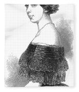 Pauline Viardot-garcia Fleece Blanket