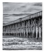 Pawleys Island Pier Fleece Blanket