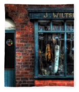 Pawnbroker's Shop Fleece Blanket
