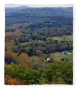 Peace In The Valley Fleece Blanket