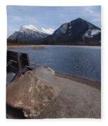Vermillion Lakeside Fleece Blanket