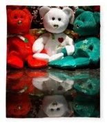 Peace Love Joy Fleece Blanket