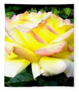 Peace Rose- Okanagan Valley Fleece Blanket