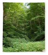 Peaceful Forest Fleece Blanket