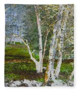Peaceful Meadow Fleece Blanket
