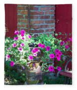 Peaceful Retreat Fleece Blanket