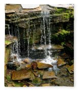 Peaceful Rocks Fleece Blanket