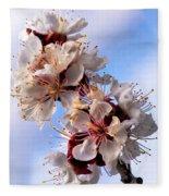 Peach Blossoms Fleece Blanket