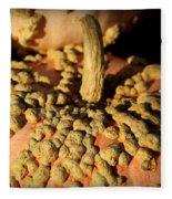 Peanut Pumpkins Fleece Blanket
