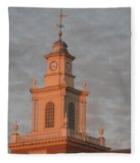 Pearl Evening Fleece Blanket