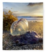 Pearl Of The Sea Fleece Blanket