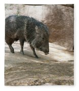 Peccary Fleece Blanket