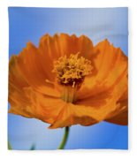 Pefect In Orange Fleece Blanket