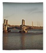 Pelham Bridge Fleece Blanket
