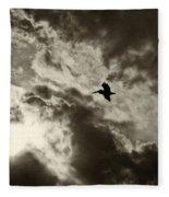 Pelican Fly By Fleece Blanket