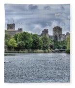 Pembroke Castle Fleece Blanket