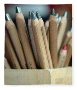 Pencils Fleece Blanket