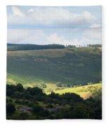 Pennine Way View Fleece Blanket