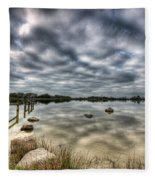 Penyfan Pond 3 Fleece Blanket