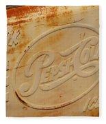 Pepsi Cola Remembered Fleece Blanket