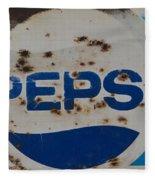 Pepsi Old Style Fleece Blanket