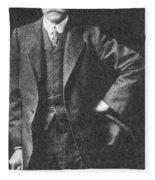 Percival Lowell, American Astronomer Fleece Blanket