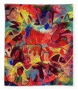 Perennial Fleece Blanket