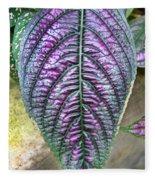 Perisan Plant Fleece Blanket