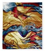 Permanent Waves Fleece Blanket