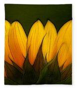 Petales De Soleil - A12 Fleece Blanket