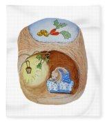 Peter Rabbit And His Dream Fleece Blanket