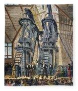 Philadelphia Expo: Engine Fleece Blanket