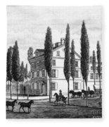 Philadelphia: House, C1800 Fleece Blanket