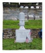 Phillies Harry Kalas' Grave Fleece Blanket