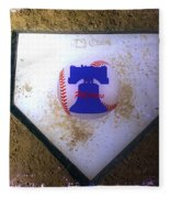 Phillies Home Plate Fleece Blanket
